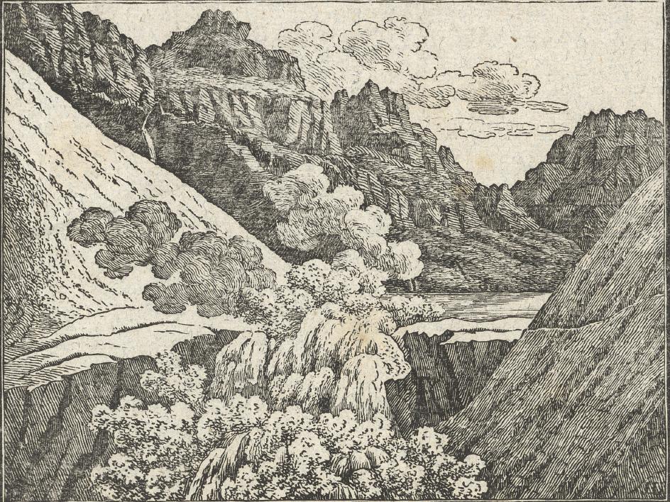 rupture du barrage glaciaire le 16 juin 1818