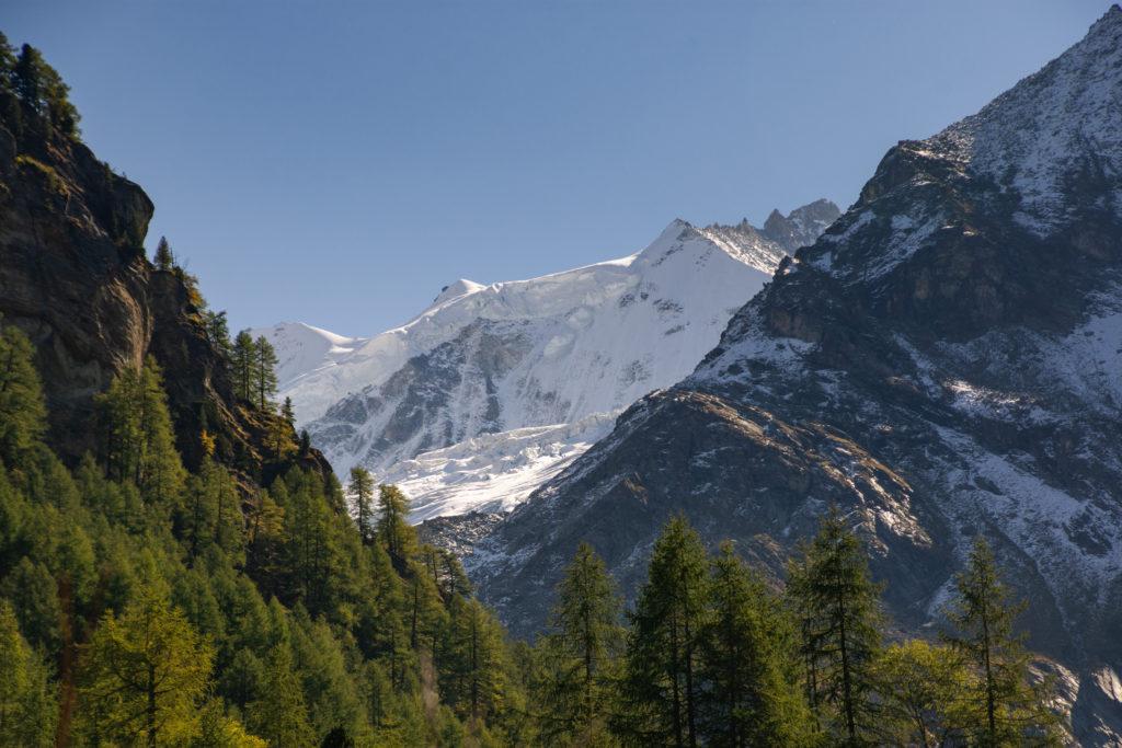 la ceinture des 4000 du haut bassin versant de la Navisence