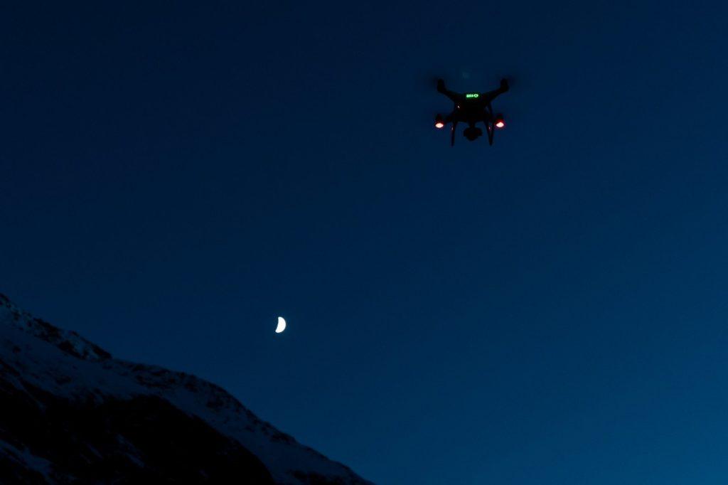 vol de drone